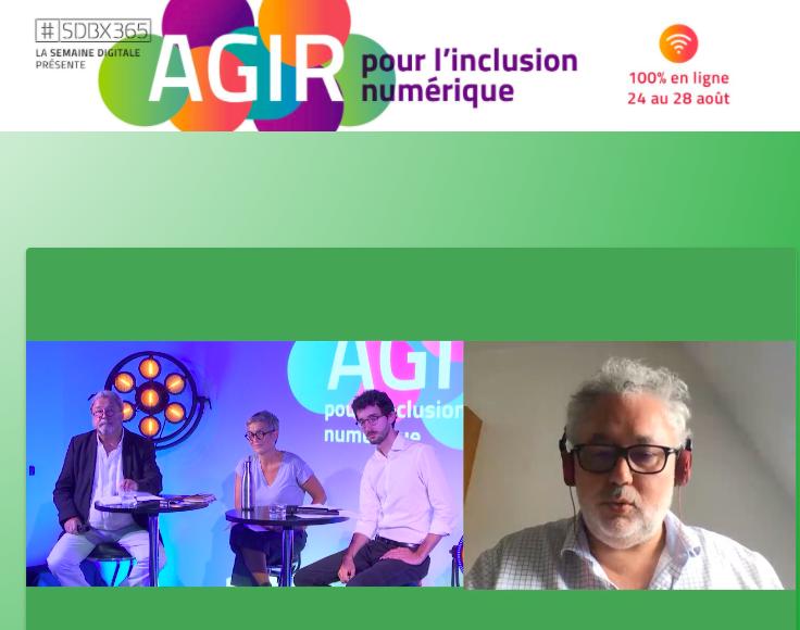 Bordeaux Métropole prend le pas de la digitalisation du marché de l'événementiel : le congrès Agir pour l'inclusion numérique se déroule à distance en 2020.